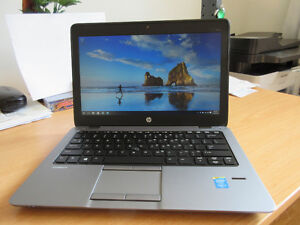 "HP EliteBook 820 - 12.5"", 8GB RAM, 256GB SSD HD Win 7, Ultrabook"