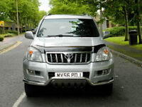 2006 56 Toyota Land Cruiser 3.0 D-4D LC5 5dr WITH FSH+1 OWNER+REAR TV'S++