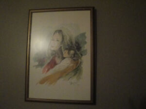 """ORIGINAL PAINTING (15"""" by 20""""), BY AN ITALIAN ARTIST!"""