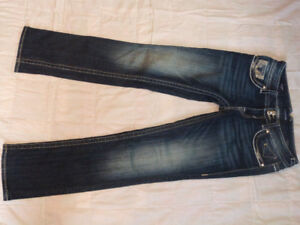 Womens Jeans 2 Pair, Bootlegger Vigoss jeans and ZCO jeans