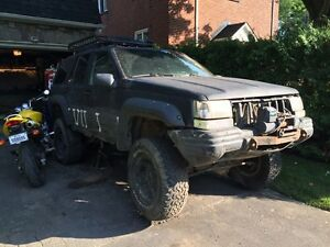 JEEP GRAND CHEROKEE POUR PIECES