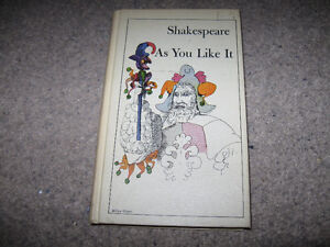 Shakespeare-As You Like It-1963 Signet Classic Edition