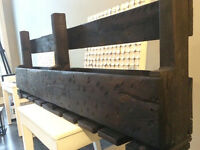 Hand Made Rustic Wine Rack