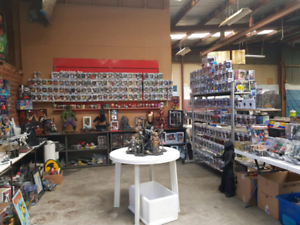 Huge Toy Collectibles Garage Sale