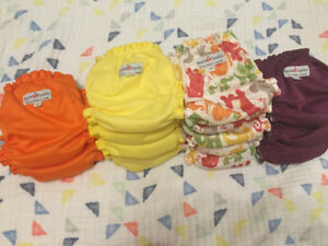 Applecheeks Size 1 Diaper Bundle