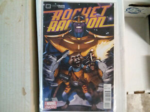 Marvel Now Loot Crate Rocket Racoon #001 $10