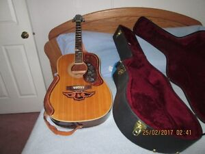 Citation II  Canadian Made Acoustic guitar and hard shell case