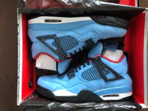 DS Air Jordan 4 Travis Scott size 11