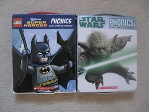 Star Wars And Lego Phonics Books