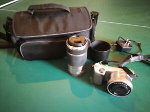 one set of sony camera