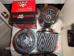 Cold air intake high flow air filters- 3 ,3.5 and 4 ID