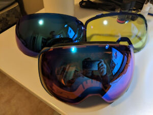 Anon M2 Goggles Asian Fit - 3 Lenses with MFI Facemask