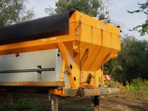 SNOW PLOW AND  WET AND DRY SALTER
