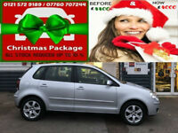 2008 VOLKSWAGEN POLO 1.4 MATCH 5DR ( 80PS ) AUTOMATIC ( AA ) WARRANTY INCLUDED
