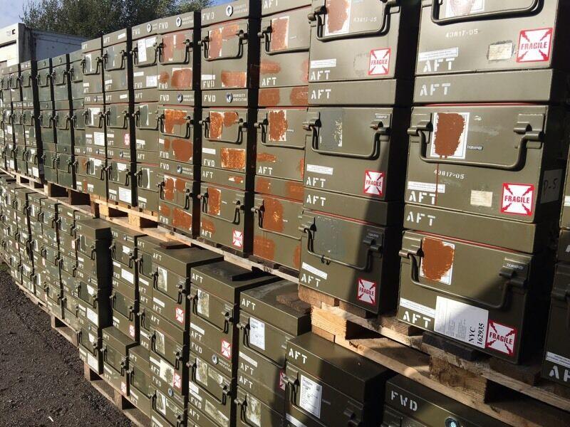Army tool box ammunition case flight case
