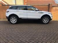LAND ROVER RANGE ROVER EVOQUE ED4 PURE 2013 Diesel Manual in White