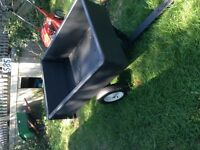 Lawn Tractor Dump Trailer