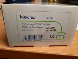 E3 bulkhead 2w ledm/nm (NLE3B)
