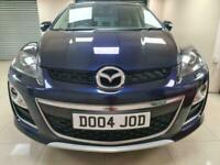Mazda CX-7 2.2d Sport Tech Blue 4X4 170BHP Rev Cam DIESEL WARRANTY 12 MONTHS MOT
