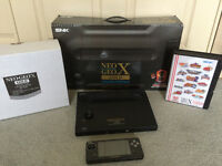Neo Geo X Complete with every game and accessory  - Mint
