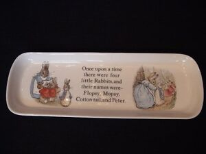 """Wedgwood Collection, Peter Rabbit """"Pencil Tray"""" London Ontario image 2"""