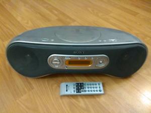 Sony Boom Box CD player + AM/FM radio + AUX input