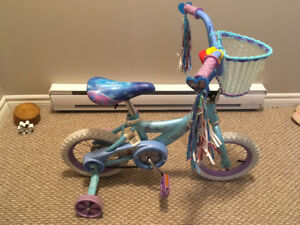 12' girls frozen bike