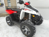 2011 Polaris Scrambler 500 4x4 Sportsman Renegade VTT Laval / North Shore Greater Montréal Preview