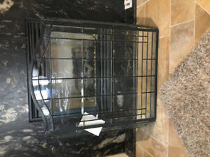 Bevelled Glass and Wrought Iron Hand Cast Fireplace Screen