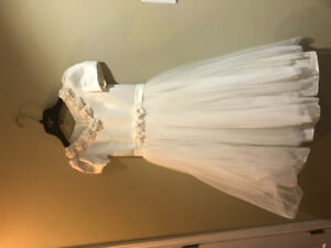 Ivory Flower girl/ First communion dress for sale