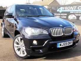 2009 BMW X5 XDRIVE 35D M SPORT 7 SEATER AUTOMATIC 4X4 3.0 DIESEL 4X4 DIESEL