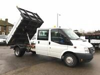 2013/63 Ford Transit 2.2TDCi 125PS RWD Double Cab Tipper LWB
