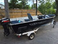 !!! 14' SIDE CONSOLE FISHING BOAT !!!
