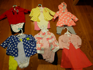 3 Mon Carter's Outfit Lot