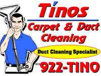 Tino's Carpet & Duct Cleaning LTD