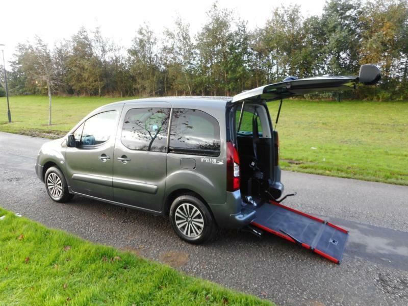 2016 Peugeot Partner Tepee RS 1.6 Hdi ONLY 11K Wheelchair Accessible Vehicle M1