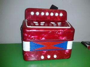 Child Button Toy Accordion  Musical Toy