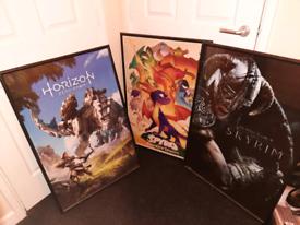 3 x A1 poster frames