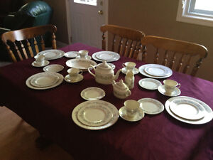 Royal Doulton China - 6 Place Settings and Serving Dishes