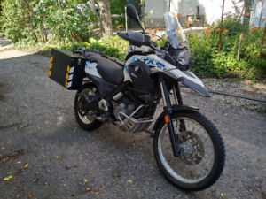 2013 BMW G650GS Sertao Ready for Adventure