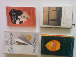 Books 8 / fiction, bestsellers, history