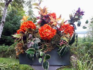 New Large Fall Floral Arrangements