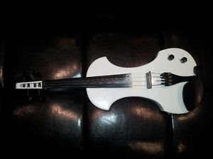 Fender FV-1 Violon Electrique /Electric Violin Blanc Polar White