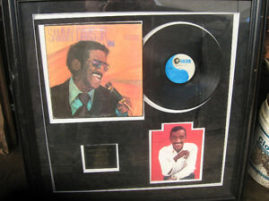 Sammy Davis Jr, Commemorative Framed Autograph and Album