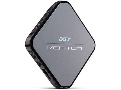 BEST Acer Veriton N281G Mini PC Intel Atom 3 GB RAM 160GB HDD WIN7 WIFI SD Card.