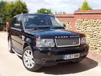 Land Rover Range Rover Sport 2.7TD V6 auto 2007 HSE Black - FSH, High Spec!