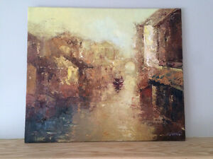 Original impressionist oil painting