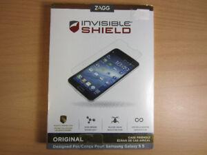 ZAGG Invisible Shield Samsung Galaxy S5 Screen Protector NEW