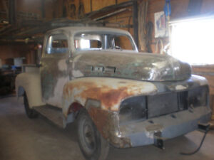 1951 FORD F150 FOR SALE  GREAT WINTER PROJECT