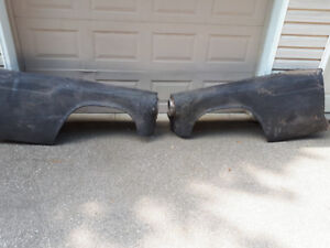 1955 FORD T BIRD FRONT FENDERS. GARAGE CLEAN OUT. $350. PAIR